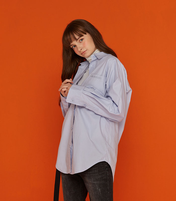 OVERSIZED SHIRT_BLUE