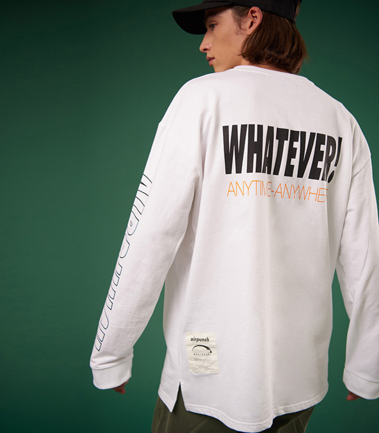 Okay Longsleeves Tshirt_white