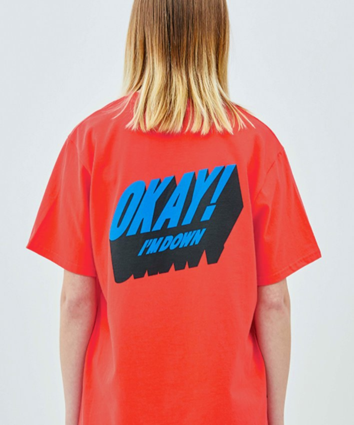 Okay T-shirt_red