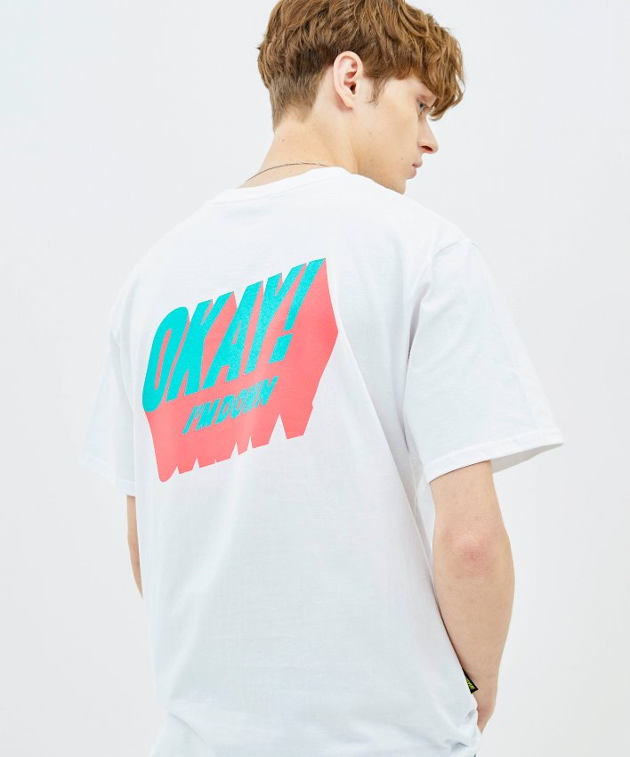 Okay T-shirt_white