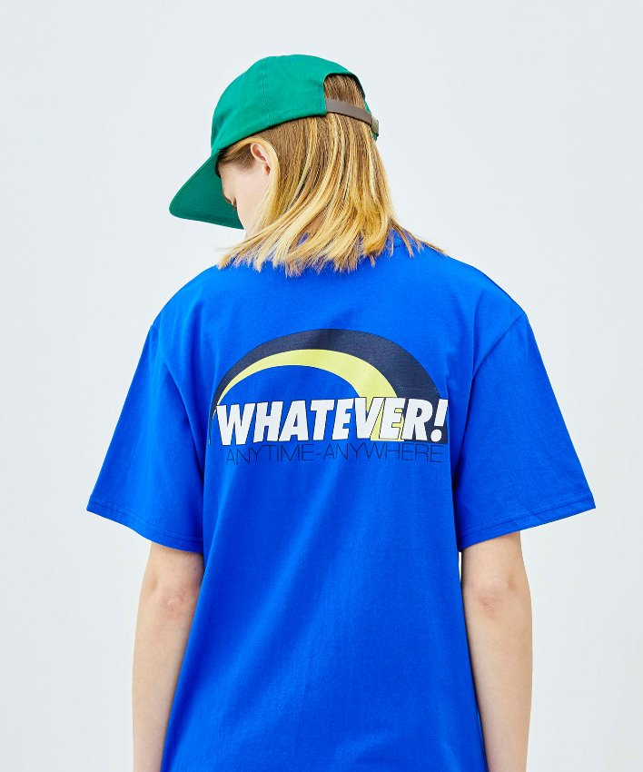 Arch Logo T-shirt_blue