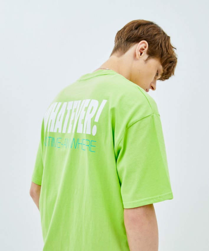 Slogan T-shirt_green
