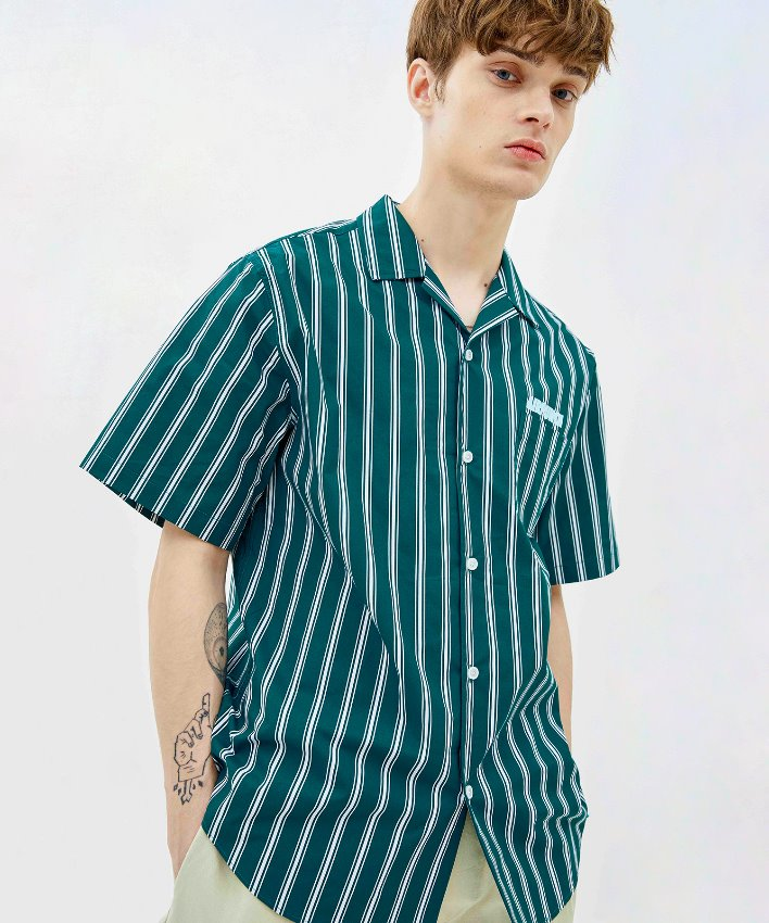 Stripe Shirt_green